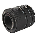 3-Piece Macro Extension Tube Set for SONY AF Series - Black