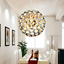 1-Light Pendant Light in Metal