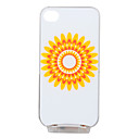 Fashion Cover for iPhone4 and 4S With Colorful LED - Sunflower