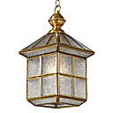 Golden 1 - Light Pendant Light in House Shape