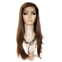 Lace Front Long Silky Straight 100% India Reme Hair Wig Multiple Colors Available