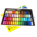 64 Colors Hair Color Pastel Chalk