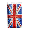 UK Flag Style Diamond Case for iTouch 4