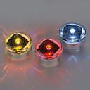 Solar Warning Safety Sign Road Studs LED Flash Light