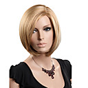 Capless Short High Quality Synthetic Natural Looking Blonde Straight Wig