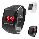 Unisex Touch Screen Rubber Digital LED Wrist Watch (Assorted Colors)