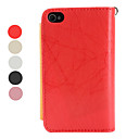 Megnet Pocket Style PU Leather Protective Case for iPhone 4 and 4S (Assorted Colors)