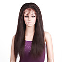 Lace Front 100% Indian Remy Hair Long Yaki Straight Hair Wig