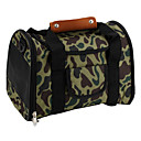 Camouflage Style Pet Carrier (Small, Green)