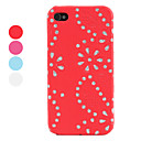 Rhinestone Floret  Case for iPhone 4 and 4S (Assorted Colors)
