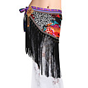 Dancewear Polyester With Tassels Belly Dance Performance Belt For Ladies