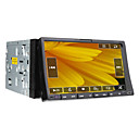 7 pulgadas de coches reproductor de DVD 2DIN (GPS, TV, bluetooth, RDS, 800x480)