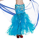 Dancewear Polyester With Embroidery  Performance Belly Skirt For Ladies More Colors