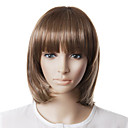 Capless High Quality Natural Look Grey Bob Hair Wig