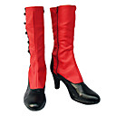 Cosplay Boots Inspired by Black Butler-Madame Red PU