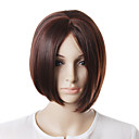 Capless High Quality Natural Look Bob Brown Hair Wig