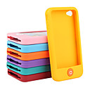 Smart Beans Silica Gel Case for iPhone4 and 4s