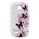 Flower Pattern Soft TPU Back Protective Case for Samsung Galaxy Mini S5570(Multi-Color)