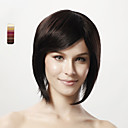 Capless Short Bob Black 100% Huamn Hair Wig 5 Colors To Choose