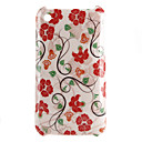 Flowers Pattern Hard Case for iPhone 3G and 3GS (Multi-Color)