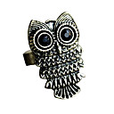Bague Rtro Style Hibou