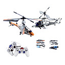 Wltoys S626 Infrared RC Aluminum Alloy Action Fighting Helicopter (Random Mating)