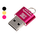 Portable USB 2.0 lector de tarjetas Micro SD TF