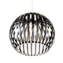 60W Modern Acrylic Pendant Light with 1 Light Globe Design
