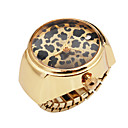 Pretty Alloy Adjustable Round Ring Watch
