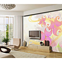 Abstract Moderne Grafische Mural