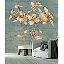 Botanical Floral Words and Objects Contemporary Graphics Nature Mural