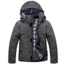 Thick Detachable Cap Cotton Coat