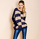 TS Irregular Sequin Stripe Sweater