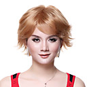 Capless Top Quality 100% Human Hair Super Fashion Blonde Short Wig
