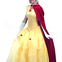 Deluxe Belle Beauty Halloween Princess Dress (3stuks)