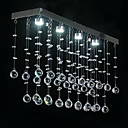 Monte Modern Enjuagar con 4 luces LED en diseo Crystal Beaded