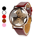 Unisex PU Analog Quartz Wrist Watch (Assorted Colors)