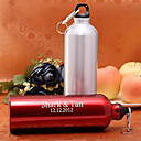 Personalized 750ML Aluminum Alloy Sport Bottle (More Colores)