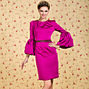 TS VINTAGE Simplicity Flare Sleeve Sheath Dress