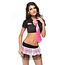 Sexy Halloween Costume rose uniforme des étudiants adultes (3 Pieces)