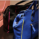 Elegant Color Block Dual-use Satchel(34*9*25cm)