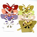 Butterfly Favor Box With Cutouts (Set of 12)