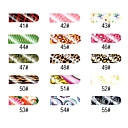 16 stuks Nail Art Sympathieke Full Cover Stickers Manicure