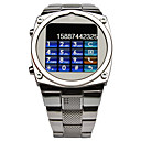 TW818 1,6 pouces ultra-mince de All Steel Belt Camra MP3 Montre tlphone mobile java
