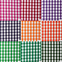 100% Cotton Woven Yarn-Dyed Large Size Plaids By The Yard (Many Colors)