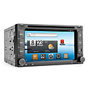Android 6.2 Inch 2Din Car DVD Player with GPS, DVB-T, Wifi, 3G
