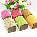 Classic Bamboo And Wood Favor Box - Set of 12 (More Colors)