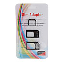 Adaptador Micro SIM e Nano SIM para iPhone 4, iPhone 4S e iPhone 5