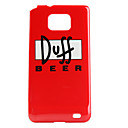 Duff Beer Pattern Hard Case für Samsung Galaxy S2 I9100