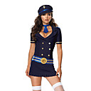 Mignon Sexy Stewardess Airline Halloween Costume (4 pices)